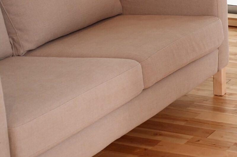 座面が広いソファ