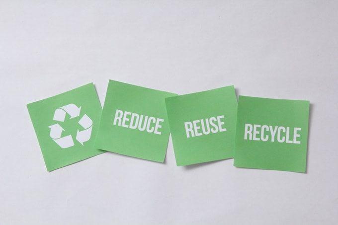 リデュース、リユース、リサイクル