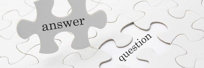 answerと書かれたパズル