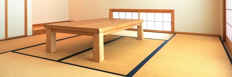 和室にあるテーブル