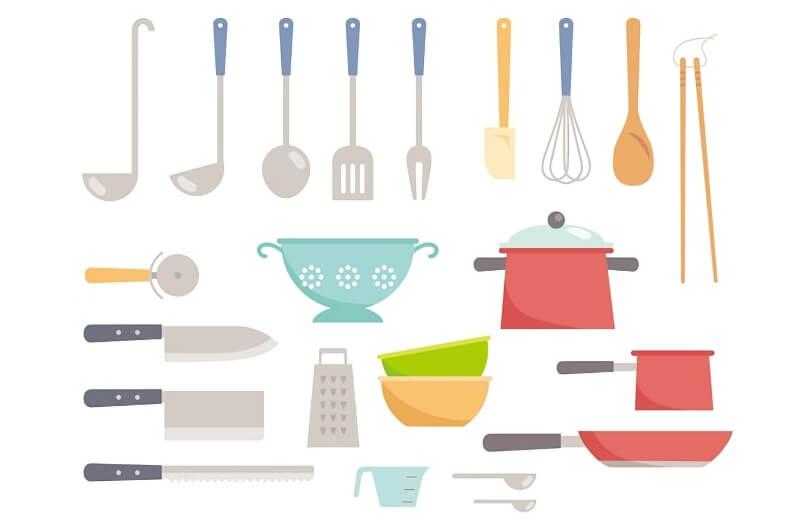 色々なキッチン用品