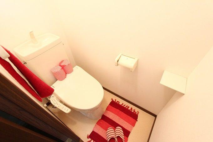 華やかなトイレ