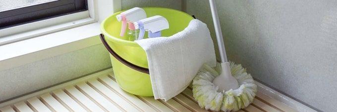 お風呂場の掃除用品