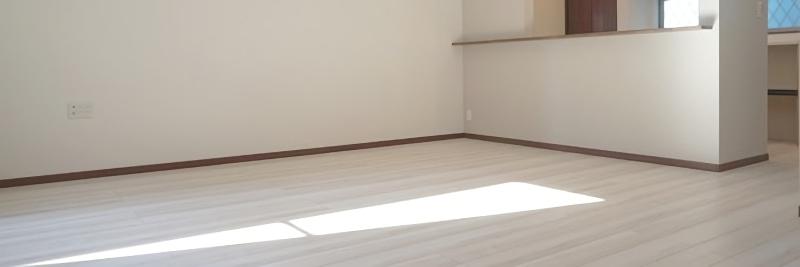 引っ越し後の部屋